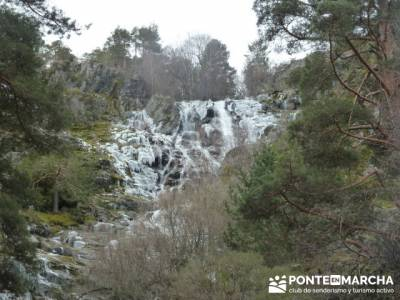 Cascada de Mojonavalle - Sierra de la Morcuera;senderismo albacete